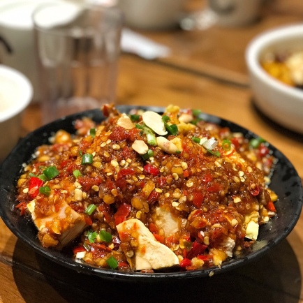 sichuan style spicy tofu