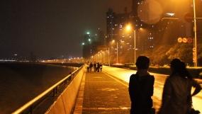 along the Qiantang river at the edge of Hangzhou