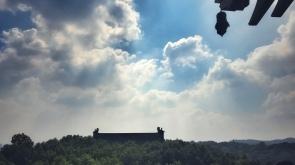 overlooking the westlake