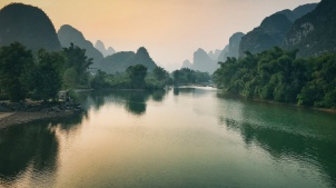 River outside of Guilin